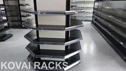 Supermarket Pillar Rack