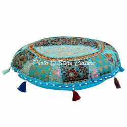 Indian Bohemian Floor Cushion Cover