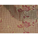 Jacquard Honeycomb Floral Fabric
