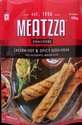 Meatzza Chicken Hot & Spicy Seekh Kabab - Frozen Foods