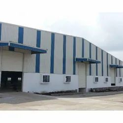 FRP Panel Build Steel Industrial Tin Ware House Shed