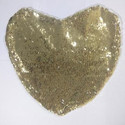 Gold Heart Magic Cushion