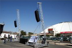 Aluminum Truss Line Array Stand