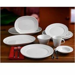 Ceramic White Dinner set