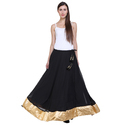 Ladies Black Long Skirt