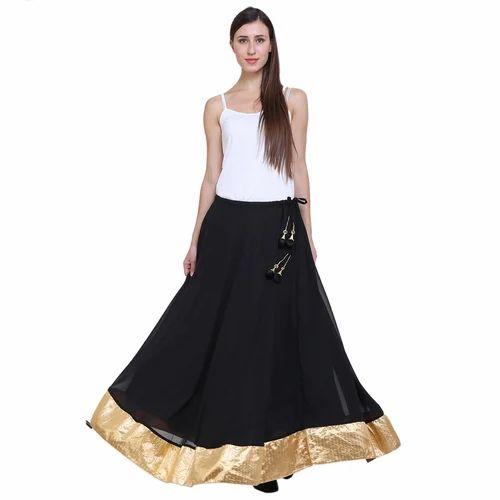 90d0fe149f2 Read More. Ladies Black Long Skirt