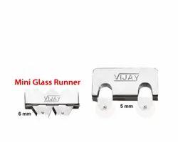 Mini Glass Runner, Size: 5mm, 6mm