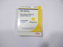 Huminsulin R 100 IU Cartridge