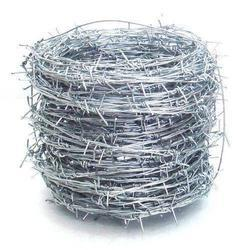Silver GI Barbed Wire