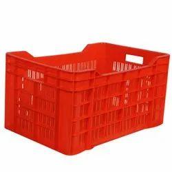 CMP-1-4 Plastic Vegetable Crate
