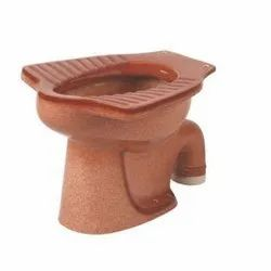 Red Brown Anglo Indian Water Closet