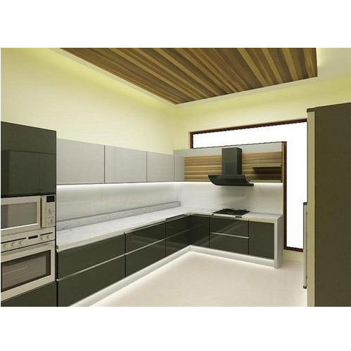 Pvc Modular Kitchen Manufacturer From: Modern PVC Modular Kitchen, Rs 800 /square Feet