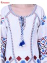 Chrysta Women Dress with Embroidery