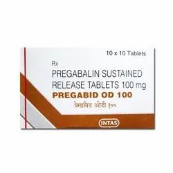 Pregabalin Sustained Release Tablets