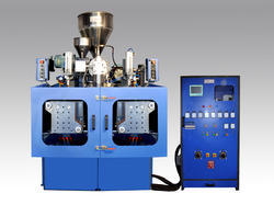 Double Station V - Strip Blow Moulding Machine