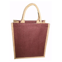 Chocolate Brown Jute Bags
