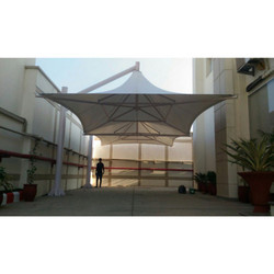 Tensile Fabric Umbrella Shed
