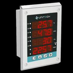 Clean Room Monitor - Temp. RH DP Time