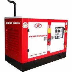 Eicher Silent or Soundproof 15 kVA Diesel Generator