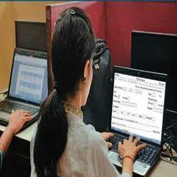 Online non voice Form Filling Services