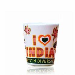 India Ceramic Shot Glass