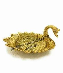 Gold Plated swan Tray