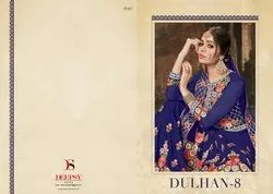 Deepsy Suits Dulhan-8 Series 1001-1004 Stylish Party Wear Faux Georgette Suit