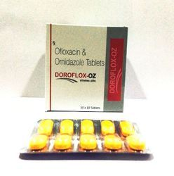 Ofloxacin 200 mg Ornidazole 500 mg Tablets