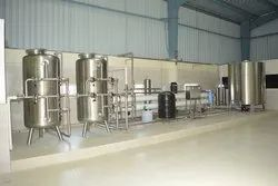 Mineral Water Treatment Plant Machinery