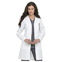 Womens Full Length Lab Coat