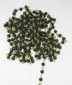Emerald Dyed Round Smooth Beads Chain