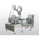 Pick Fill Seal Machine With Auger Filler And Vacuum System