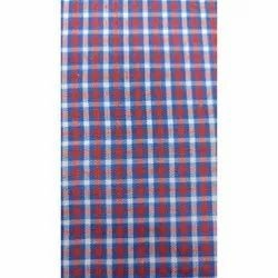 Check Shirt Polyester Fabric