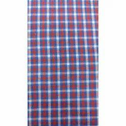 Check Shirt Polyester Fabric