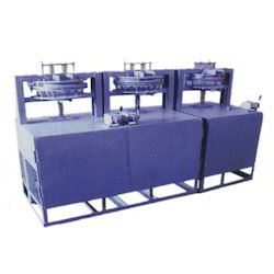 Three Die Hydraulic Paper Plate Making Machine