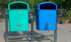 Double Stand FRP Dustbins