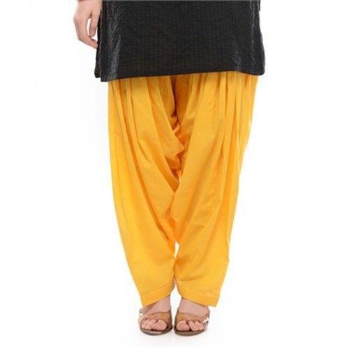 Stitched Cotton Ladies Patiala Salwar 24a28e0f9