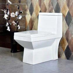 White English Toilet Seat