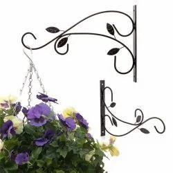 Coir Garden Hanging Plant Brackets, Wall Planter Hook For Flower Pots, Bird Feeder, Wind Chime