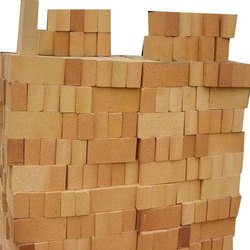 Rectangular Clay a Fire Refractory Bricks, Size: 9 In. X 3 In. X 2 In., Packaging Type: Loose