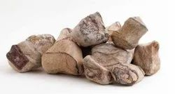 Natural Stone Tumbled Rainforest brown pebbles, For Landscaping, Dimensions: 10-75mm