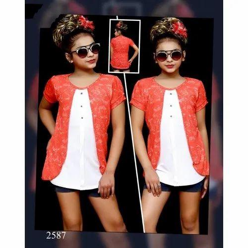 eecdf843d6f8e Secret Kids Girls Stylish Top