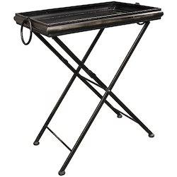 Black MS Decorative Folding Tables
