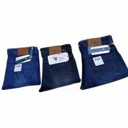 Casual Wear Blue Mens Comfort Fit Denim Jeans, Waist Size: 28-36 inch