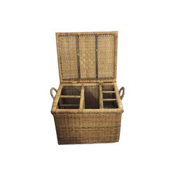 Cane Wicker Basket