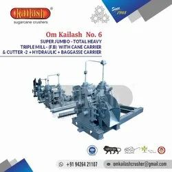 Sugarcane Crusher Triple Mill Om Kailash No.6
