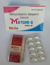 Methylcobalamin 1500 Mcg, Gabapentene 300 Mg Capsule, Packaging Type: Alu-alu, Packaging Size: 10 X 10