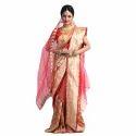 Ladies Bridal Banarasi Saree