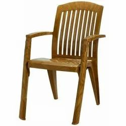 With Hand Rest (Arms) Plastic Chair