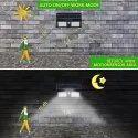 40 Solar Sensor Wall Light